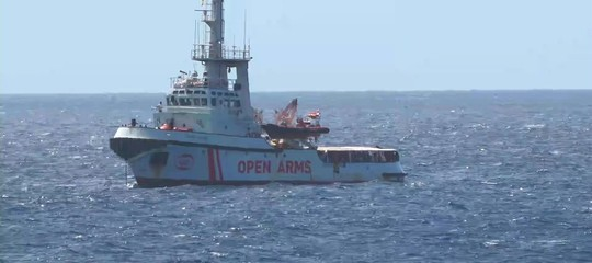 open arms lampedusa