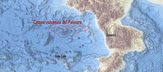 vulcani sottomarini mar tirreno calabria